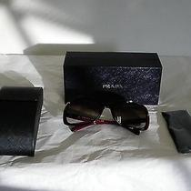 Authentic Women Prada Sunglasses Spr 08o Iad-6s1 Photo
