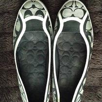 Authentic Women's Coach Alpine Slip-on Sneakers A2165 - Size 9.5 B Pre-Owned Photo