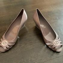 Authentic Women's Gucci Jelly Rubber Wedge Heels Size 38 Italy Wow Rare Photo