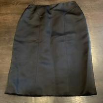 Authentic Women's Oscar De La Renta Beautiful Silk Skirt Size 8 Wow Rare Photo