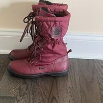 Authentic Womens  Coach Sage Cold Weather Boots Size 8 Photo