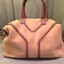 Authentic Ysl Yves Saint Laurent Large Tan Suede Tote Handbag- Nwot Photo