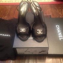Authetic Chanel Shoes 7 Photo