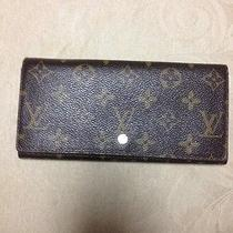 Authetic Louis Vuitton Long Wallet Photo