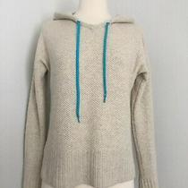 Autumn Cashmere 100% Pure Cashmere Hooded Sweater Size S Photo
