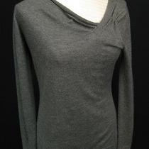 Autumn Cashmere Grey Pure Cashmere Pullover Sweater M Photo