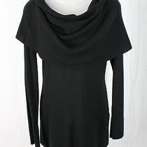 Autumn Cashmere Women's Black Cowl Neck Sweater Size M Photo