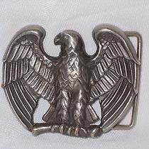 Avon American Eagle Belt Buckle Photo