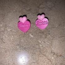 Avon Barbie Earrings Photo