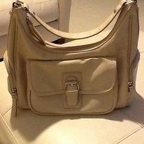 Avon Beige Compartment Organizer Shoulder Bag Tan Beige Purse With Pockets Photo