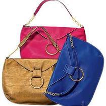 Avon Big Ring Handbag - New (Gold Only) Photo