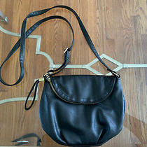 Avon Black Faux Leather Crossbody Bag Photo
