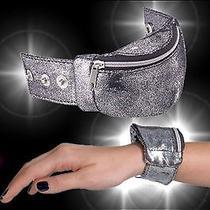 Avon Black & Silver Sparkly Wrist Wallet for Girls Coin Purse Photo