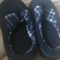 Avon Black Slippers Womens 5/6 Photo