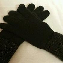 Avon Black Sparkle Cashtastic Gloves Photo
