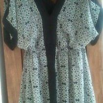 Avon Black & White Dress Large  Photo
