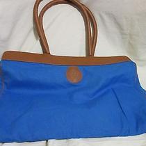 Avon Blue and Brown  Bag Photo