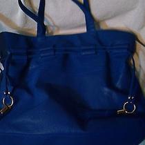 Avon Blue Handbag Photo