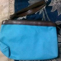 Avon Blue Purse Bag  Photo