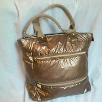 Avon Bronze Metallic Handbag Photo