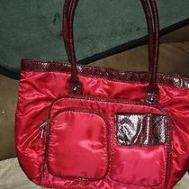 Avon Burgandy Handbag Photo