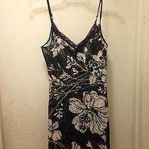 Avon Camisole Nighty Black White Lace Lingerie Nightie Size S Photo