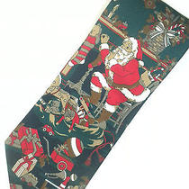 Avon Canada Ugly Christmas Tie Holiday Santa Photo