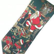 Avon Canada Ugly Christmas Tie Holiday Santa Photo