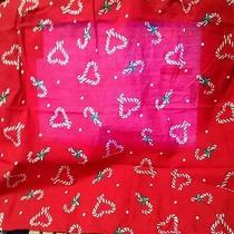 Avon Candy Cane Hearts Apron Photo
