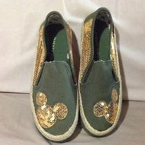 Avon Canvas Sequin Mickey Sneaker Size 6 Photo