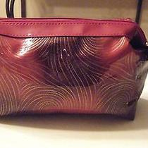 Avon Cosmetic Bag Makeup Case / Plastic   Great for the Holidays Photo