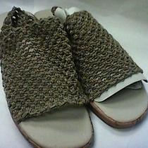 Avon Crochet Slingback Sandal Size 11 Photo