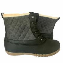 Avon Cushion Walk Black Boot Sz 9 Nwt Photo