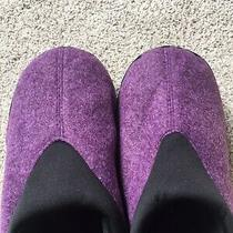 Avon Cushion Walk Memory Foam Comfort Indoor Outdoor Purple M 7-8 Slipper. New Photo
