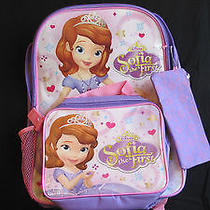 Avon Disney Sofia the First Backpack & Lunch Tote Photo