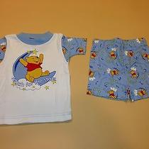 Avon Disney Winnie the Pooh Toddler Pajamas 3t New Shirt and Shorts Photo