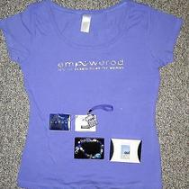 Avon Domestic Violence Awareness Set (T-Shirt Two Bracelets Keychain) Photo