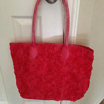 Avon Exclusive  Rosette Tote Bag Pink Photo