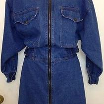 Avon Fashion Denim Jean Dress  Vintage  Women's  Size Small to Medium () Photo