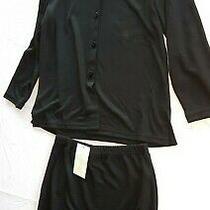 Avon Fashion Jacket & Skirt Suit Size 14-16 Black Nwt Photo