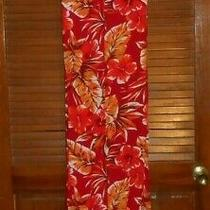 Avon Floral Sleeveless Summer Dress  1x Hawaiian  Photo