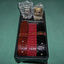 Avon Gift Collection 12 in 1 Leather Belt Collection Nib  Photo