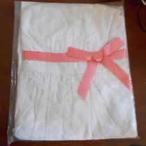 Avon Girls White Eyelet Dress Photo
