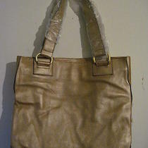 Avon Gold Leather Purse Photo