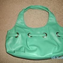 Avon Green Grommet Bag  Photo