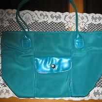 Avon Green Vinyl  Bag Photo