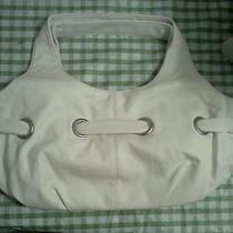 Avon Gromet Bag/ Purse Off White  Photo