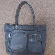Avon Hand Bag Purse Grey  Photo