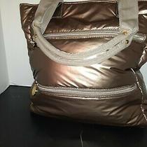 Avon Handbag Gold Sz Large Photo