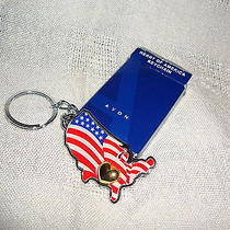 Avon Heart of America Keychain New in Box Photo
